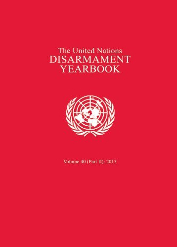 DISARMAMENT YEARBOOK