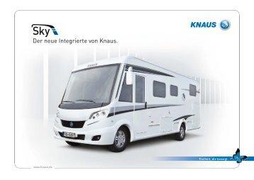 Der neue Integrierte von Knaus. - Caravan & Park