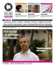 KOLIMA EMOCION Magazine Mes de Septiembre