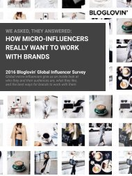 HOW MICRO-INFLUENCERS  REALLY WANT TO WORK  WITH BRANDS