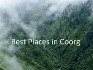 Top Homestay in Coorg