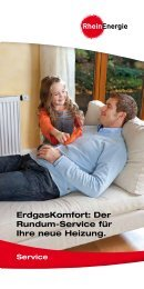 ErdgasKomfort: Der Rundum-Service für Ihre Heizung