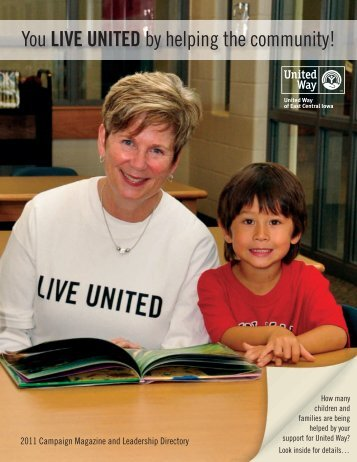 11-103 UWECI CEO Mag.indd - United Way of East Central Iowa