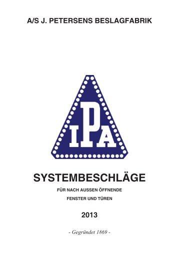 IPA System Beschläge 2013