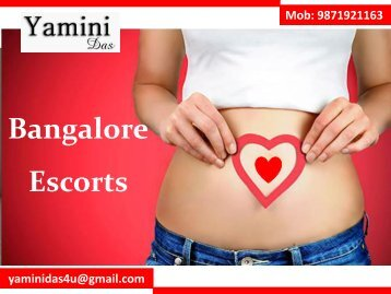 Great Yamini Das with Great Bangalore Escorts Services