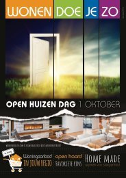 WonenDoeJeZo Zuid-West Nederland, uitgave oktober 016