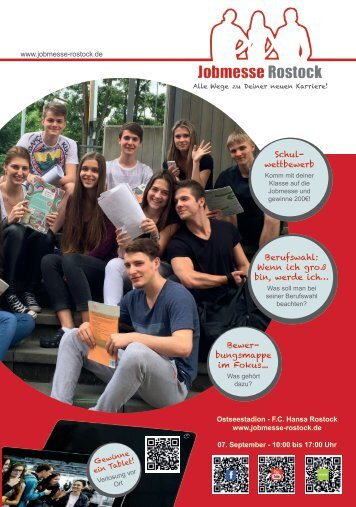 Jobmesse Rostock - Messezeitschrift Herbst 2016