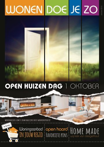 WonenDoeJeZo Zuid-Nederland, uitgave oktober 016