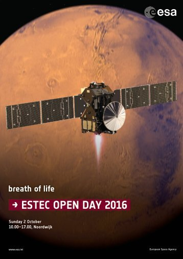 → ESTEC OPEN DAY 2016
