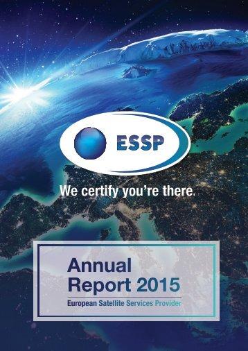 ESSP Annual Report 2015