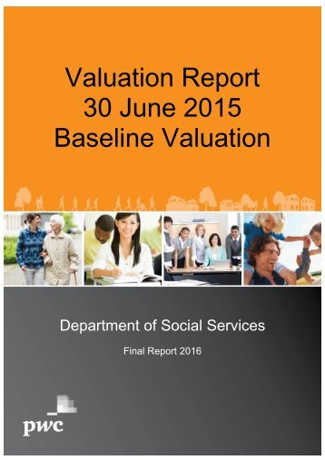 Valuation Report 30 June 2015 Baseline Valuation
