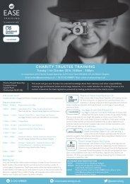 Charity Trustee Training 11th October 2016