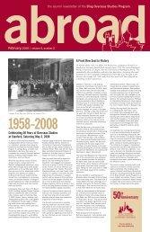 Reunion? Let us know! - Bing Overseas Studies Stanford University