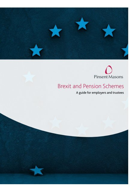 Brexit and Pension Schemes