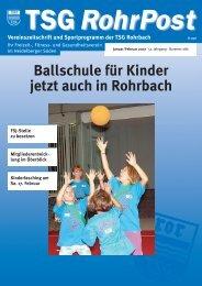 bodenbeläge parkett · laminat sonnenschutz - TSG Heidelberg ...