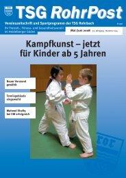 Mai/Jun. 2008 - TSG Heidelberg-Rohrbach
