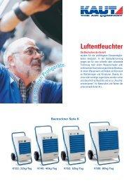 Luftentfeuchter - Alfred Kaut GmbH + Co.