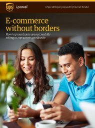 E-commerce without borders