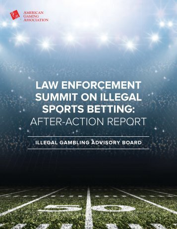 SPORTS BETTING AFTER-ACTION REPORT
