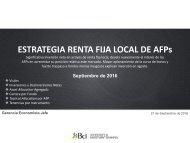 ESTRATEGIA RENTA FIJA LOCAL DE AFPs