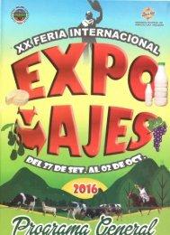 Programa EXPOMAJES 2016
