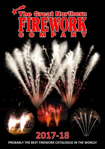 Great Northern Fireworks Catalogue 2017/18