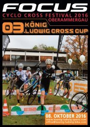 Cyclo Cross Festival Oberammergau 2016