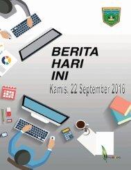 e-Kliping Kamis, 22 September 2016