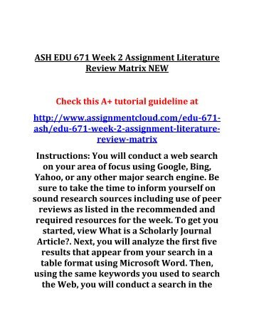 conducting a scholarly literature review Preparing to conduct a systematic review and links to resources to help you conduct a comprehensive and systematic search of the scholarly literature.