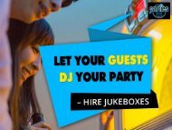 Hire Jukebox in Sydney - Let Your Jukebox Entertain You!