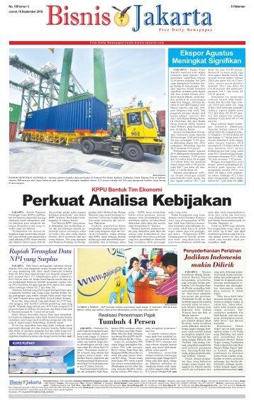 Bisnis Jakarta 16 September 2016