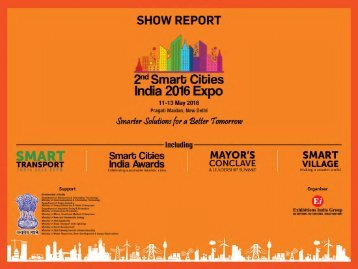 2nd-Smart-Cities-India-Post-Show-Report-2016