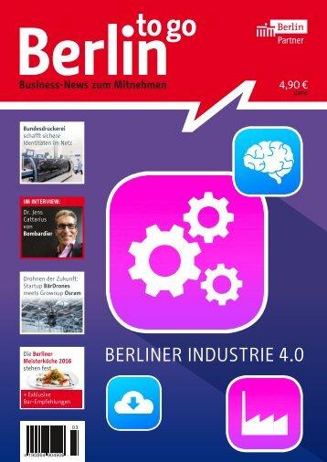 Berlin to go, Ausgabe 3.2016