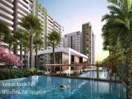 Vaswani Menlo Park | Whitefield Pre launch Project