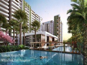 Vaswani Menlo Park | Whitefield Pre launch Project