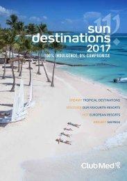 7743 Mini Magalogue 2017 Sun Destinations 3