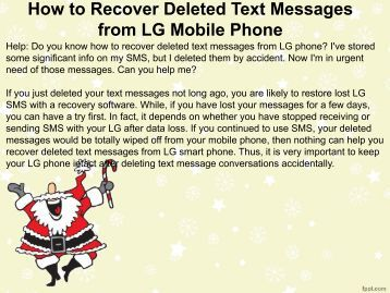 how to recover deleted text messages from iphone lost photo recovery software 4438