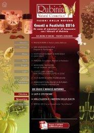 EVENTI e FESTIVITA'