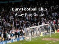 Away Fans Guide