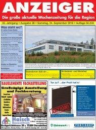 Anzeiger Ausgabe 38/16