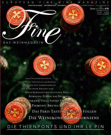 FINE Das Weinmagazin - 03 2016