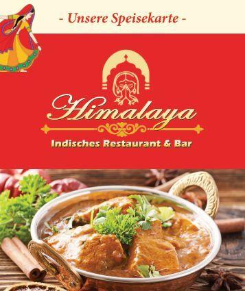 Menue Himalaya Restaurant Speisekarte