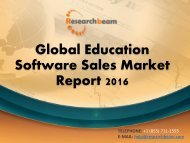 Global Education Software Sales Market Report 2016