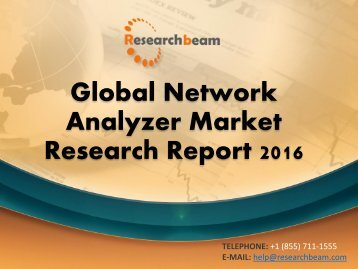 Global Network Analyzer Market Research Report 2016