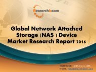Global Network Attached Storage (NAS ) Device Market Research Report 2016
