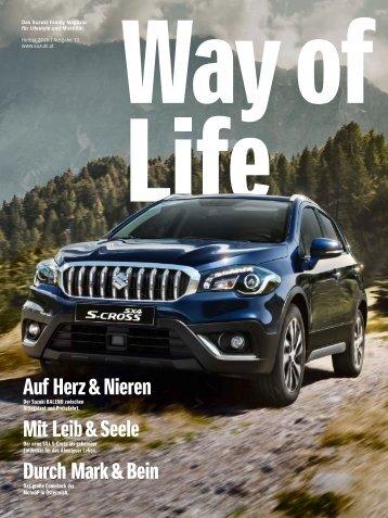 Way of Life Herbst 2016 | Ausgabe 13