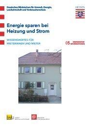 Energie sparen bei Heizung und Strom - Vogelsbergkreis