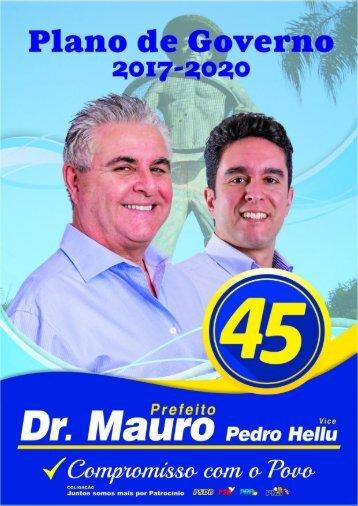 Dr. Mauro e Pedro Hellu - Plano de Governo 2017 - 2020 - Patrocínio Paulista
