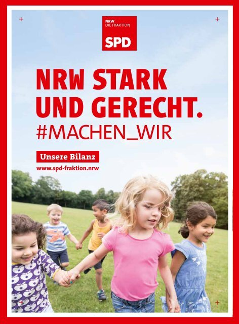 Unsere Bilanz - NRW STARK UND GERECHT