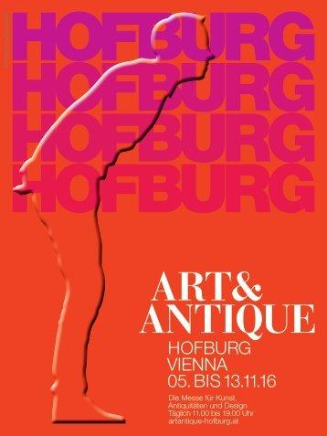 ART&ANTIQUE Hofburg Vienna 2016